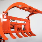 Wicked Root Rake Grapple for Kubota BX
