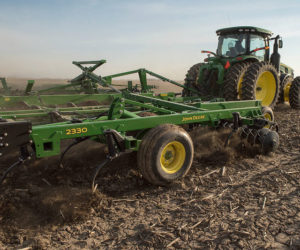 John Deere 2230 Field Cultivator and 2330 Mulch Finisher