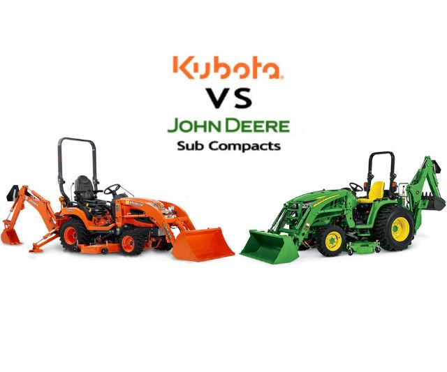 Kubota VS John Deere