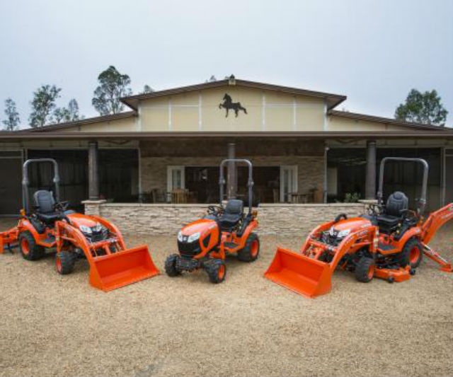 Kubota's New BX80-Series Sub-Compact Diesel Tractor