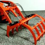 Wicked Grapple Rake for Kubota BX Tractors
