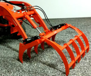 Wicked Grapple Rake for Kubota BX Tractors