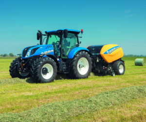 New Holland has some new Balers and Forage Tech