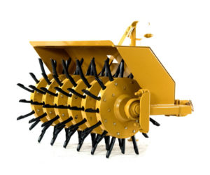 Independent Wheel Lawn Aerator With Alternating Depth Tines