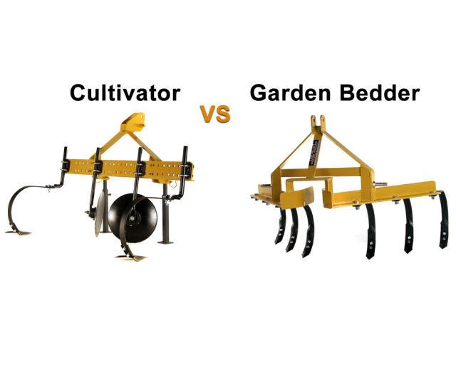 Cultivator VS Garden Bedder   Everything Tractors