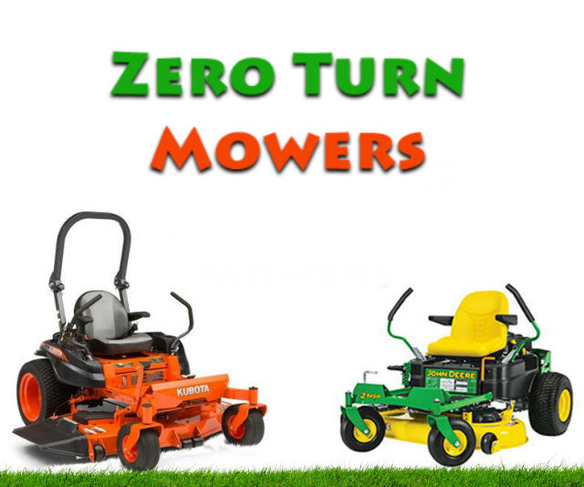New Zero-Turn Mowers by Kubota and John Deere | Everything