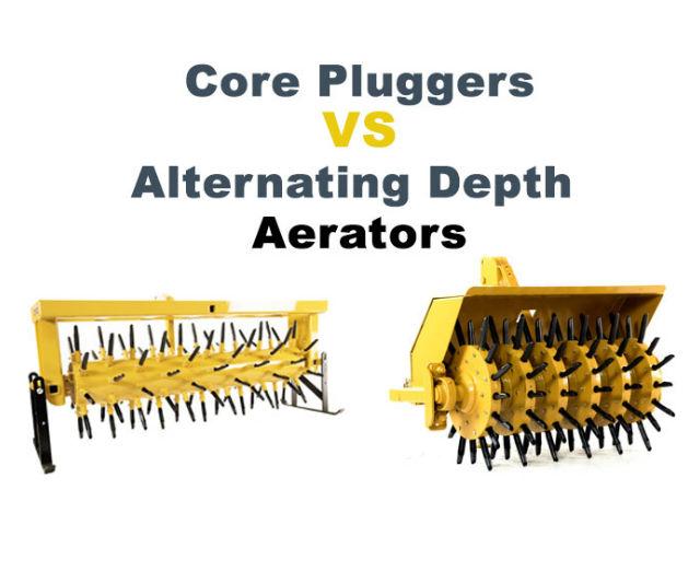 Core Plugger Vs Alternating Depth Aerator Everything